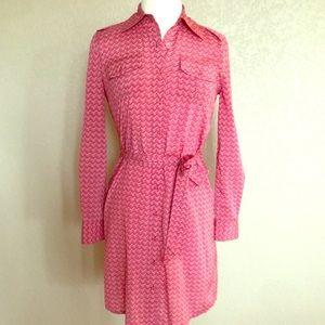 Tory Burch Silk Button Up Dress Size 2